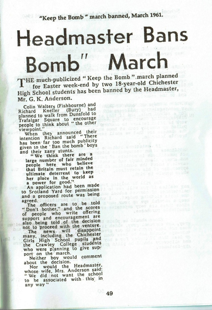 Keep the Bomb March