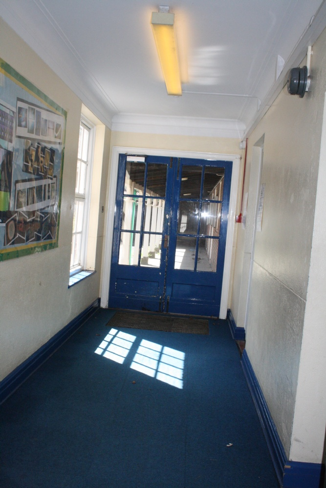 Inner Main Entrance Lobby with Staff Room on the Right