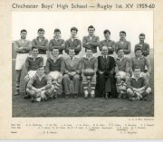 Rugby 1st XV 1959 -1960