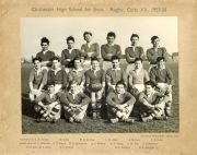 Rugby Colts XV 1957 - 1958