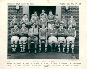 Rugby 2nd XV 1961-1962