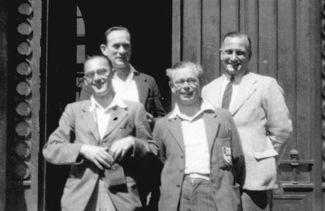 School trip to France 1949