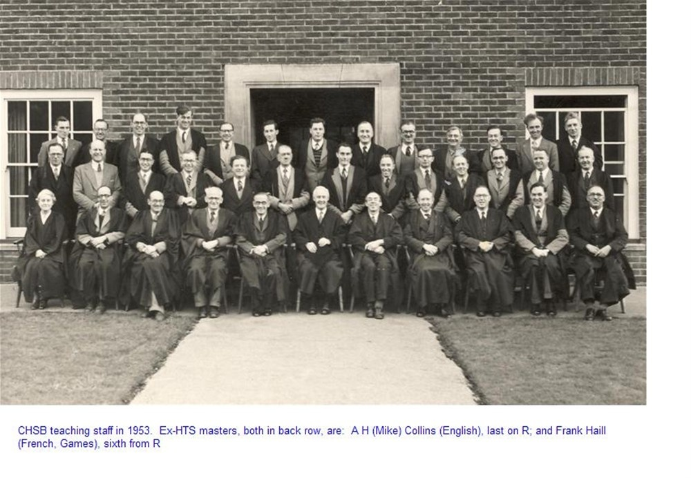 School Staff 1953: