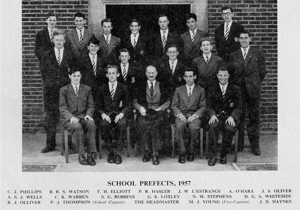 Prefects 1957