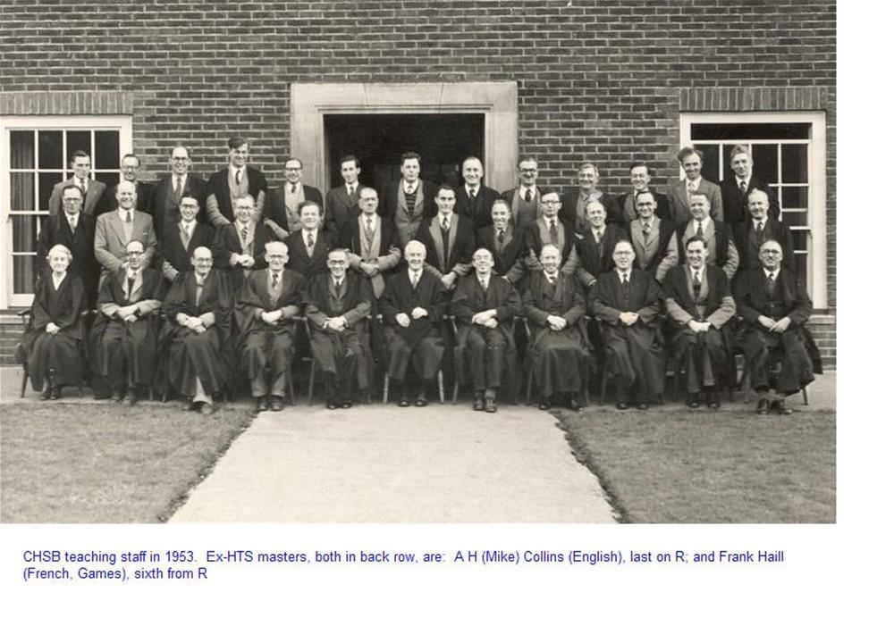 School Staff 1953