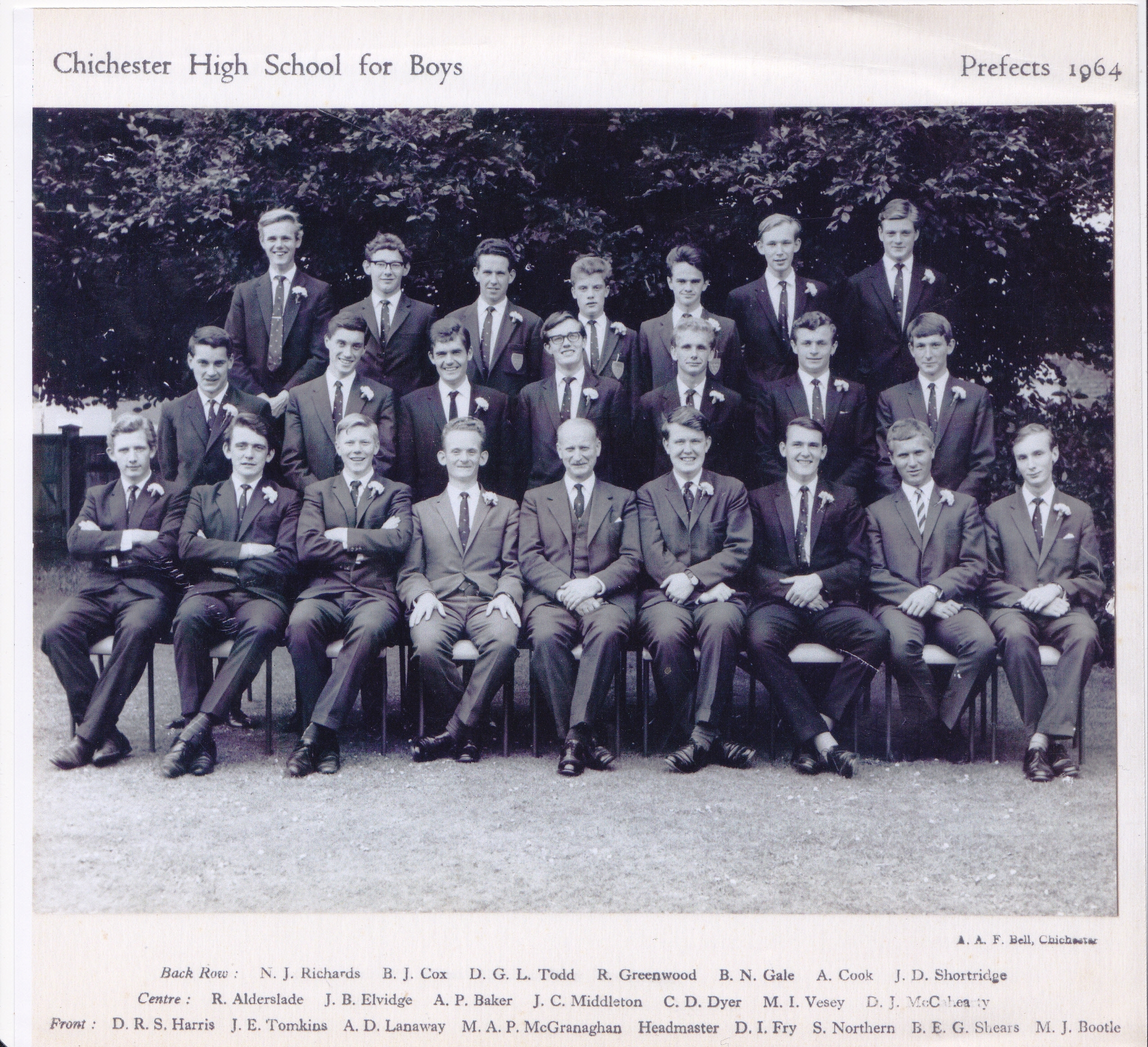Prefects 1964